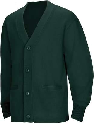 Classroom School Uniforms Men's Adult Unisex Cardigan Sweater