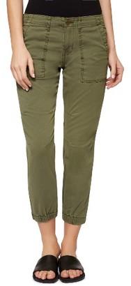 Petite Women's Sanctuary 'Peace Trooper' Crop Cargo Pants $119 thestylecure.com