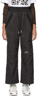 A-Cold-Wall* Black Technical Lounge Pants