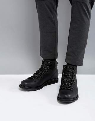 Sorel Madson Waterproof Hiking Boots In Black