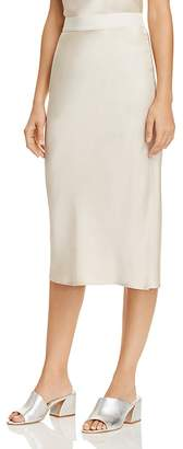 Theory Silk Midi Skirt