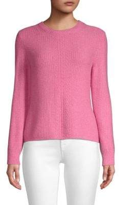 Max Mara Moena Long-Sleeve Seed Stitch Sweater