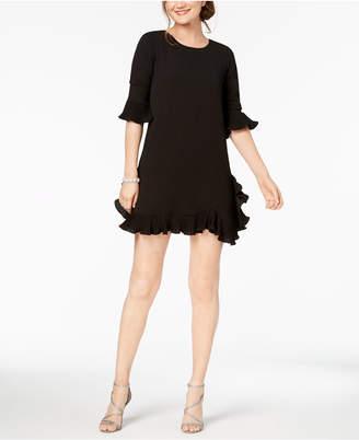 MSK Petite Ruffled A-Line Dress