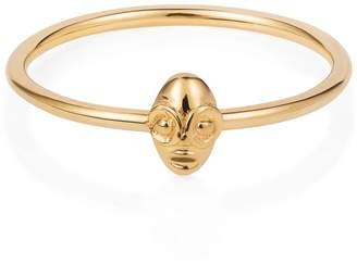 Lee Renee Tiny Voodoo Ghede Ring Gold Vermeil