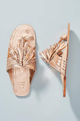 Anthropologie Figue Scaramouche Slide Sandals