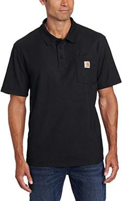 Carhartt Men's Big & Tall Contractors Work Pocket Polo Original Fit K570