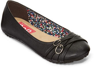 POP Nelly Womens Ballet Flats Slip-on Closed Toe