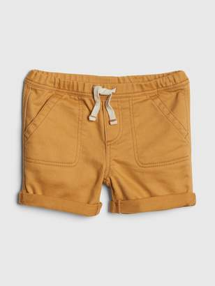 Gap Baby Pull-On Denim Shorts In Color