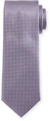 Canali Silk Basketweave Tie, Lavender