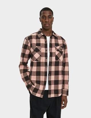 Obey Vedder Woven Flannel Shirt