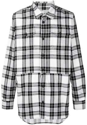 Off-White plaid shirt