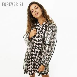 Forever 21 (フォーエバー 21) - Forever 21 クリアビニールレインコート