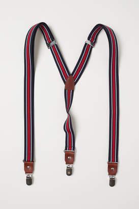 H&M Suspenders - Red