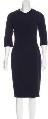 Victoria Beckham Crepe Sheath Dress