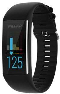 Polar A370 Exercise Fitness Tracker + Wrist Based Heart Rate Monitor Black - M/L M / L