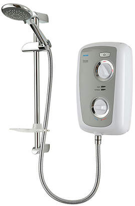 Triton Fevore Thermostatic 9.5kW Electric Shower - Grey