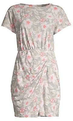 Rebecca Taylor Women's Kamea Floral Jersey Mini Dress