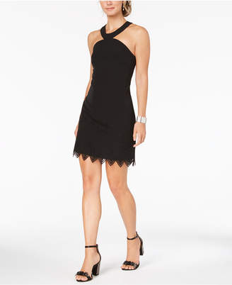 Laundry by Shelli Segal Cutout-Trim Sheath Dress