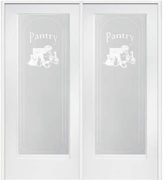 URBAN RESEARCH Verona Home Design Pantry MDF Primed Interior French Door