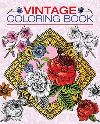 Vintage Coloring Book (Chartwell Coloring Books)