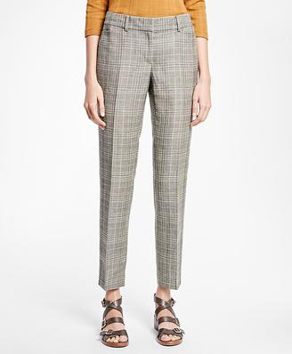 Tapered Glen Plaid Trousers $268 thestylecure.com