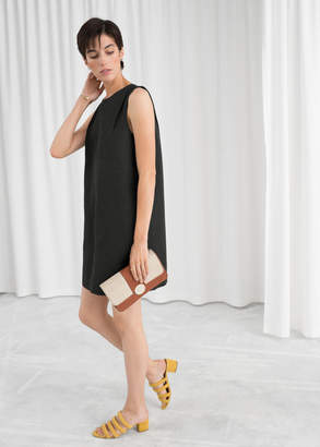 And other stories Sleeveless Cocoon Dress
