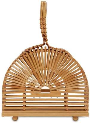 Cult Gaia Mini Cupola Bamboo Bag