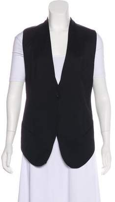 Helmut Lang High-Low Wool Vest w/ Tags