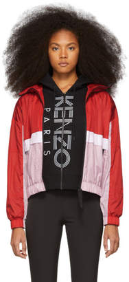 Kenzo Red Windbreaker Jacket