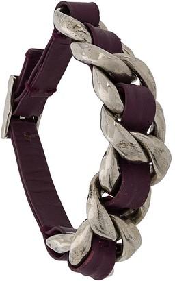 Chanel Pre-Owned woven detail bracelet