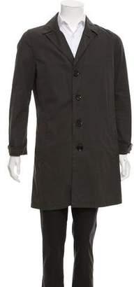 Burberry Woven Car Coat