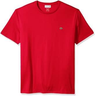 Lacoste Men's Short Sleeve Jersey Pima Regular Fit Crewneck T-Shirt, TH6709-51