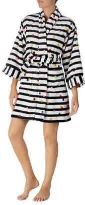 Kate Spade Dotted Stripe Robe