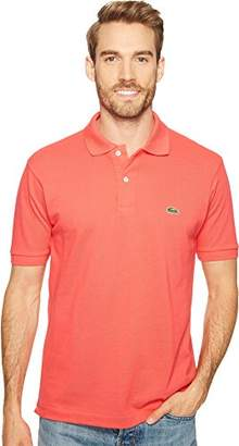 Lacoste Men's Short Sleeve Pique L.12.12 Classic Fit Polo Shirt