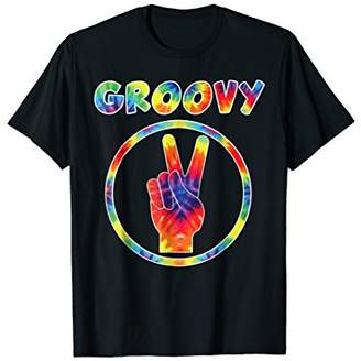 Groovy 70's Tie Dye T-Shirt - Vintage Tee For Retro Party