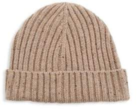 Saks Fifth Avenue MODERN Donegal Ribbed Beanie