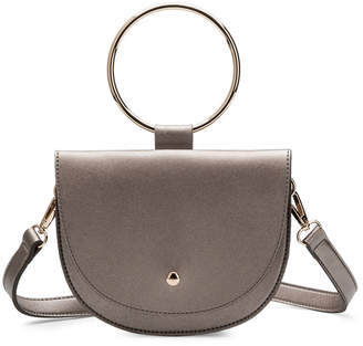 At Rue La Melie Bianco Felix Pewter Crossbody