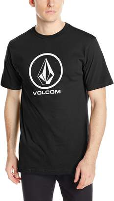Volcom Men's Fade Stone T-Shirt, Heather Grey