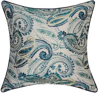 ... Spencer Home Decor Vanity Paisley Throw Pillow