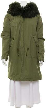 Mr & Mrs Italy Fur-Trimmed Hooded Parka