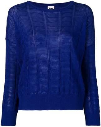 M Missoni loose-fit pullover