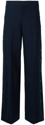 RED Valentino side stud trousers