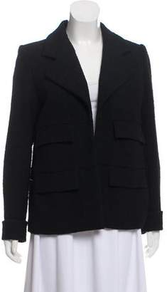 Chanel Open Front Wool Jacket