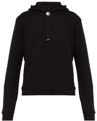 Saint Laurent Cotton Hoody - Mens - Black