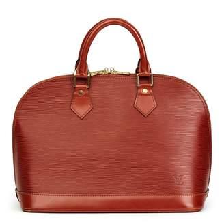 Louis Vuitton Alma leather tote