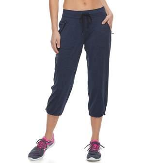 2bb87db5456bc Tek Gear Women s Zipper Pocket Capris