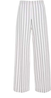 Rosetta Getty Cropped Straight Leg Pant