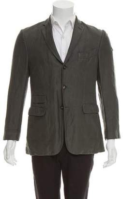 Massimo Alba Woven Three-Button Blazer