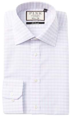 Thomas Pink Helmsley Check Classic Fit Dress Shirt