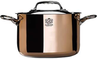 Debuyer De Buyer de Buyer Prima Matera Copper High Stewpan with Lid